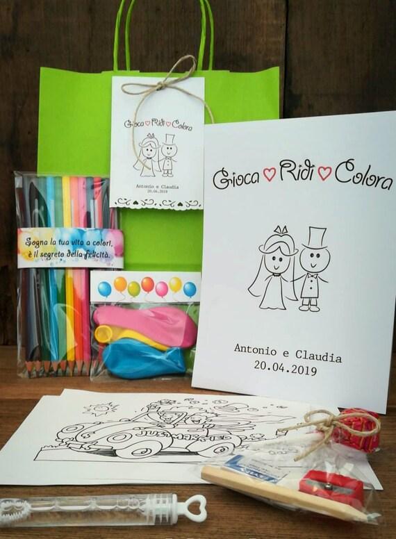 Segnaposto Bimbi Matrimonio.Wedding Bag Bambini Animazione Baby Matrimonio Tavolo Etsy
