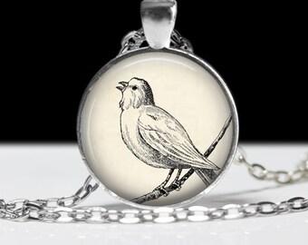 e6c9e08d7 Singing Bird Necklace, Singing Bird Keychain, Singing Bird Jewelry, Bird  Pendant, Bird Gift, Singing Gift