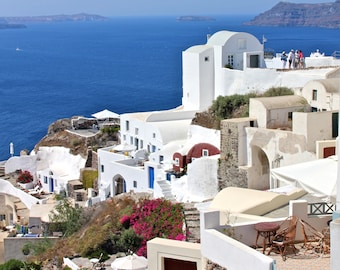 Whitewashed Santorini | Greece Photography