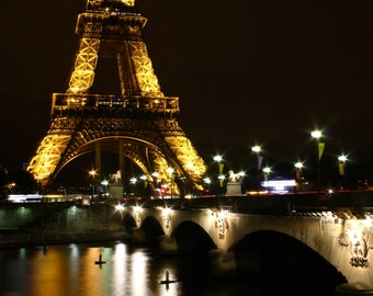 Eiffel Tower at Night | France Photography