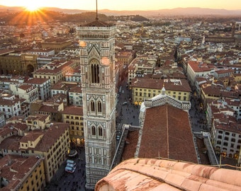Golden Hour in Florence, Italy | Italy Photography