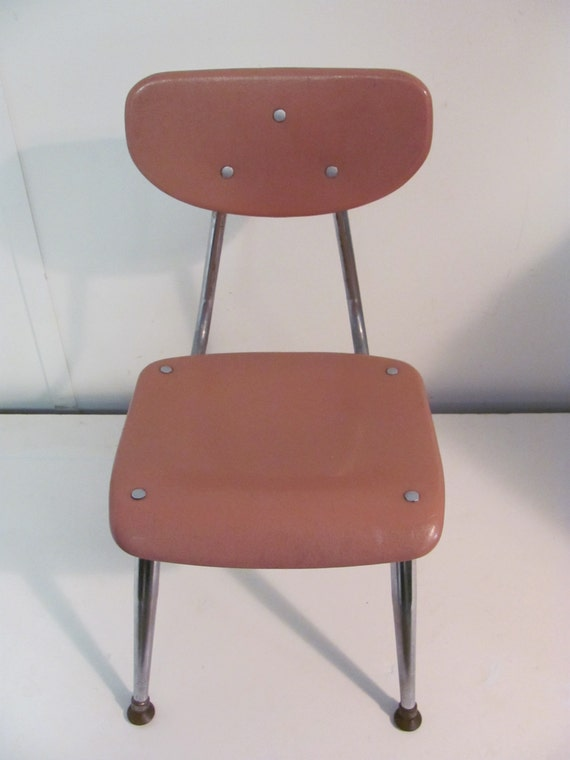 Remarkable Mid Century Modern Childs School Chair By American Desk Company Creativecarmelina Interior Chair Design Creativecarmelinacom