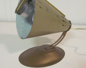Mid Century Modern Cone Shaped Heat Light