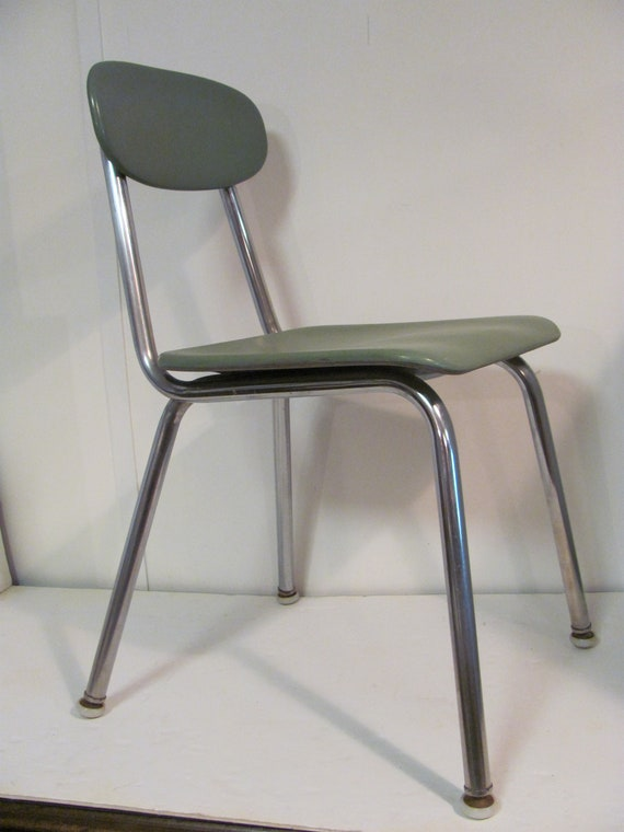 Vintage Mid Mod School Chair By Corex Etsy