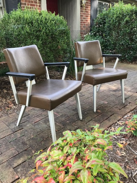 Cool Pair Of Vintage Good Form Arm Chairs Etsy