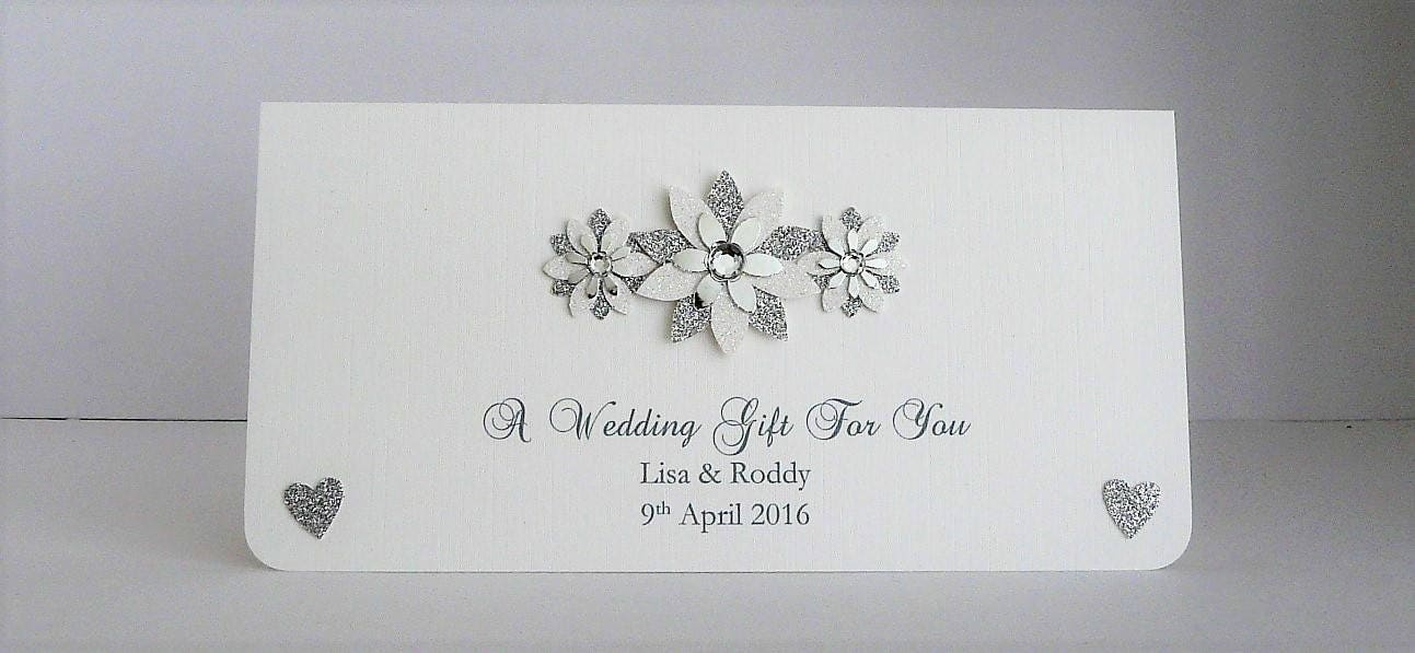 Honeymoon Vouchers As Wedding Gifts: Wedding Gift Money Wallet/Envelope For Cash/Cheques