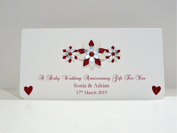 Personalised Wedding Day Gift Wallet for Money//Voucher//Gift Card