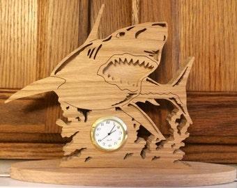 Shark Clock