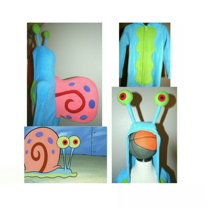 Any Size Gary The Snail Onsie Costume Etsy