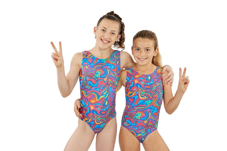 2993eec77 Gymnastics Leotards Glow in the Dark Tank in Girls and Adult