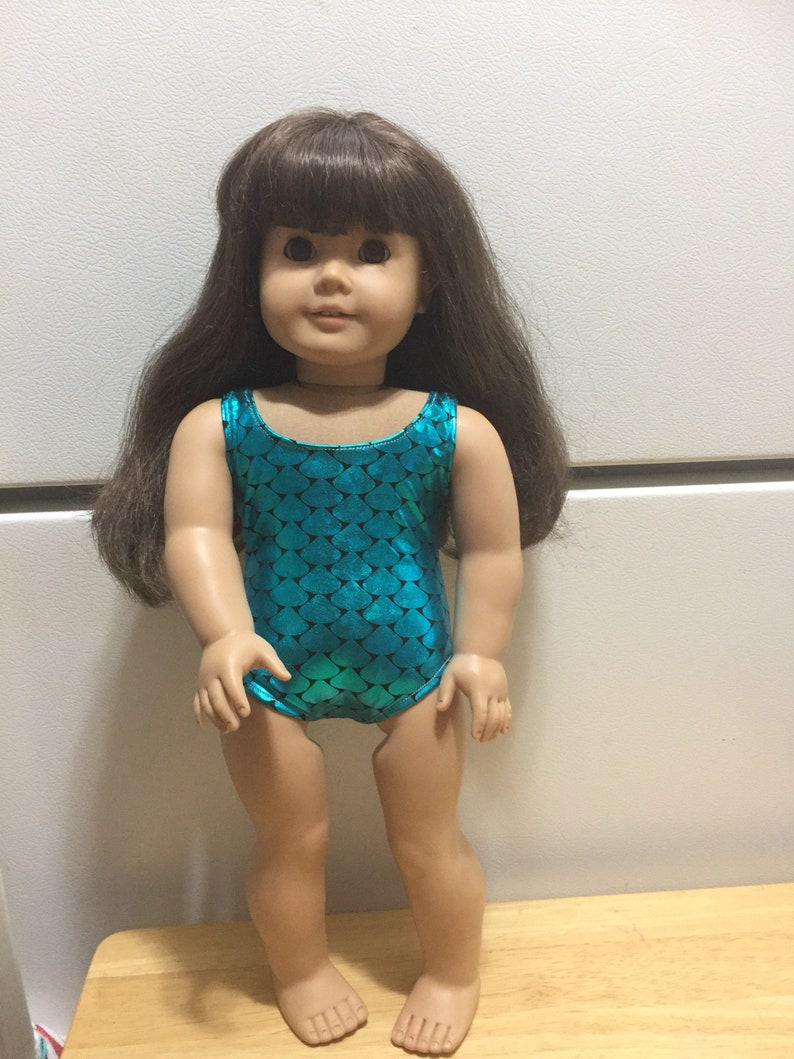 4286d67c2 Doll swimsuit fits American girl or other 18 dolls doll | Etsy