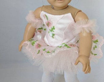 "Custom Ballet Outfit for American Girl Doll or 18"" Doll"