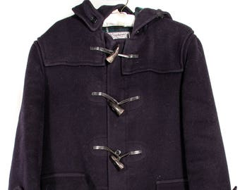 Vintage Navy Gloverall Toggle Coat
