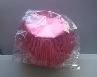 Pink Muffin Baking Cups Pack 50