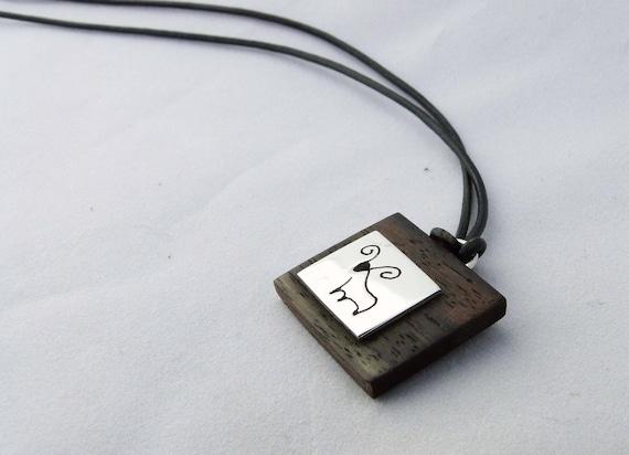 Pendentif Médaille Signe Zodiaque CANCER Argent Massif 925//1000 Bijoux NEUF
