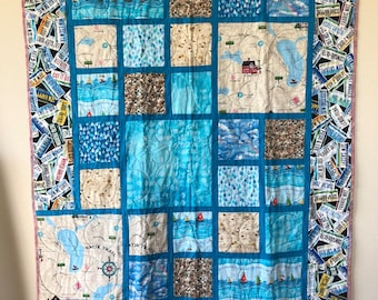 Row by Row H2O Lap Quilt