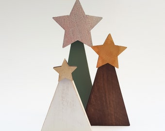 handmade wooden christmas tree set pallet wood christmas tree recycled decorations wood tree decoration wood christmas tree rustic christmas