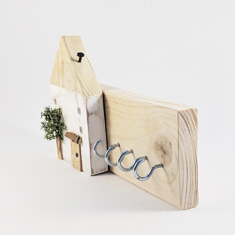 Rustic Pallet Wood Key Holder for Wall Personalized Gifts ...