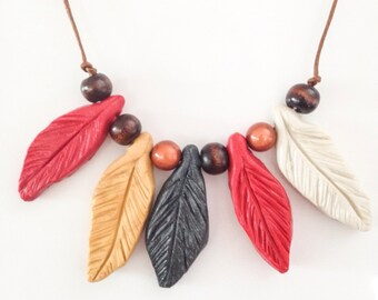 Feather Necklace//Most Popular Feather Necklace//Gift for Her//Unique Feather Jewelry//Gift for Her//Gift for Mom