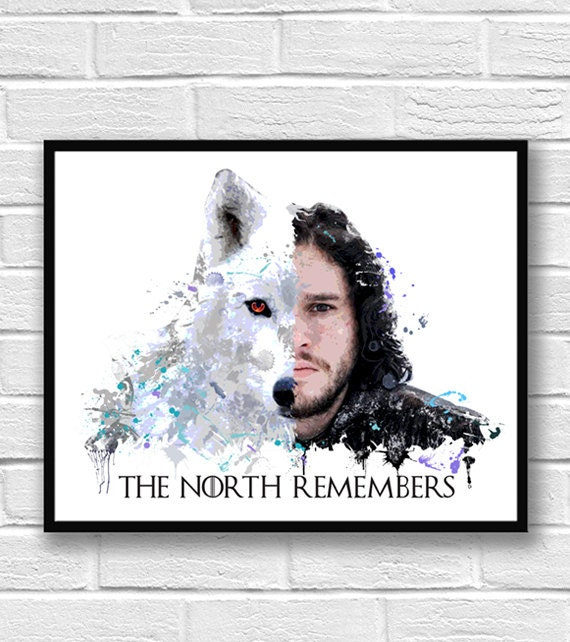 GAME OF THRONES ANTIQUE MAP 24X36 POSTER TV SERIES JOHN SNOW FILM WALL ART OLD!