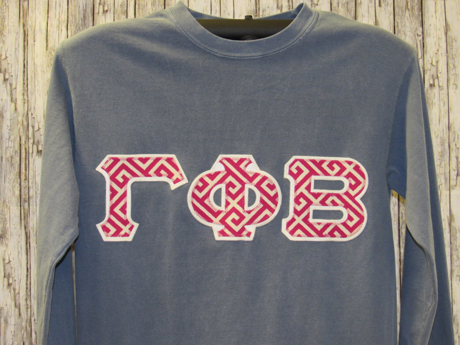 Sorority Letter Shirt, Blue Jean (color) Shirt in VARIOUS STYLES and ...