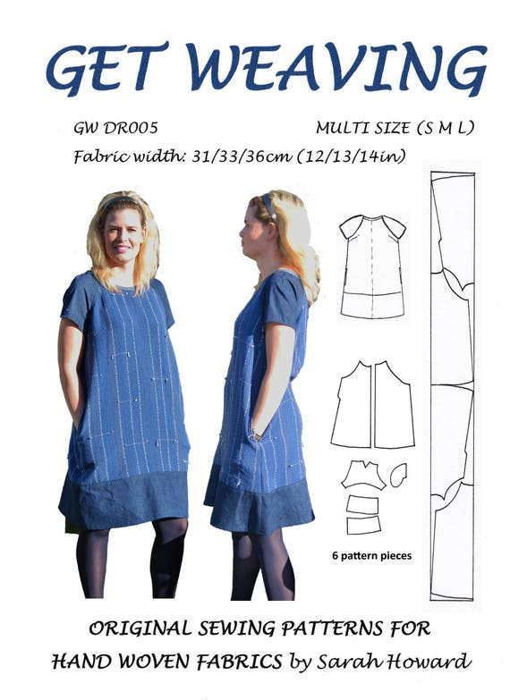 GW DR005 S-XL raglan Ärmel Kleid Schnittmuster für | Etsy