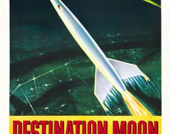 DESTINATION MOON   MOVIE Poster