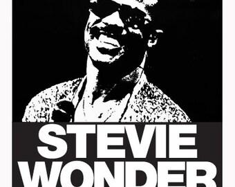 STEVIE WONDER POSTER