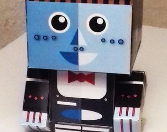 Robot Waiter  Digital Card Kit