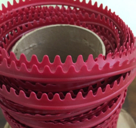 Red Vinyl Welt Cord Piping Upholstery Auto Marine Cording Etsy