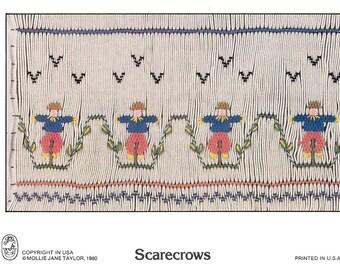 "Smocking Design ""Scarecrows"""