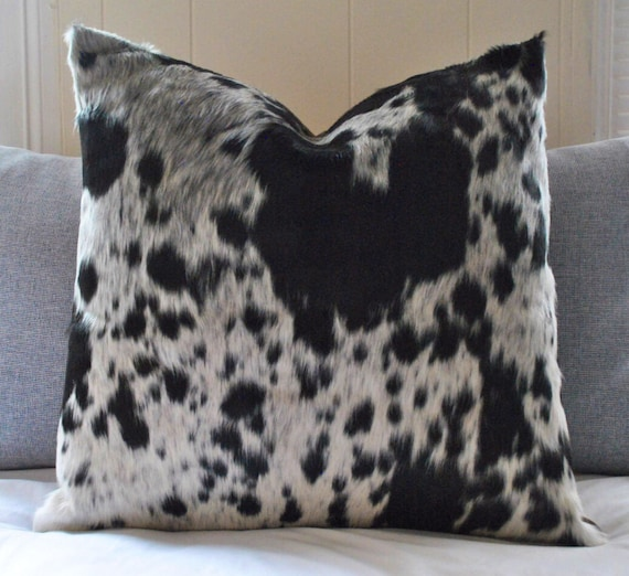 Terrific Cowhide Throw Pillow Cover Black White Cow Hide Decorative Pillow High End Cowhide Sofa Pillow Nguni Cowhide Accent Sofa Pillow W Insert Onthecornerstone Fun Painted Chair Ideas Images Onthecornerstoneorg