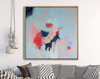 Abstract Painting, Original Artwork, Abstract Canvas Painting, Modern Art, Contemporary Art, Minimalist Art, Home Decor FREE SHIPPING