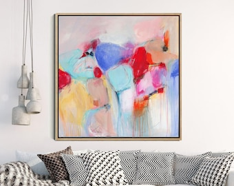 Abstract  Art Print, Abstract Painting, Large Wall Art, Giclee Print , Colorful Abstract,  Modern Art , Contemporary Wall Art, Wall Decor