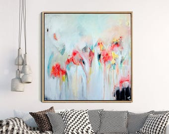 Abstract Expressionism, Abstract Print , Contemporary Art, Abstract Giclee Print , Modern Art Abstract ,Minimalist Painting , Large Wall Art