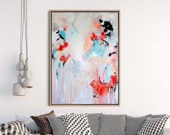 Abstract Canvas Print, Giclee Print , Origianl Abstract, Fine art Print , Modern Art , Abstract Art Print , Home Decor, Wall Decor
