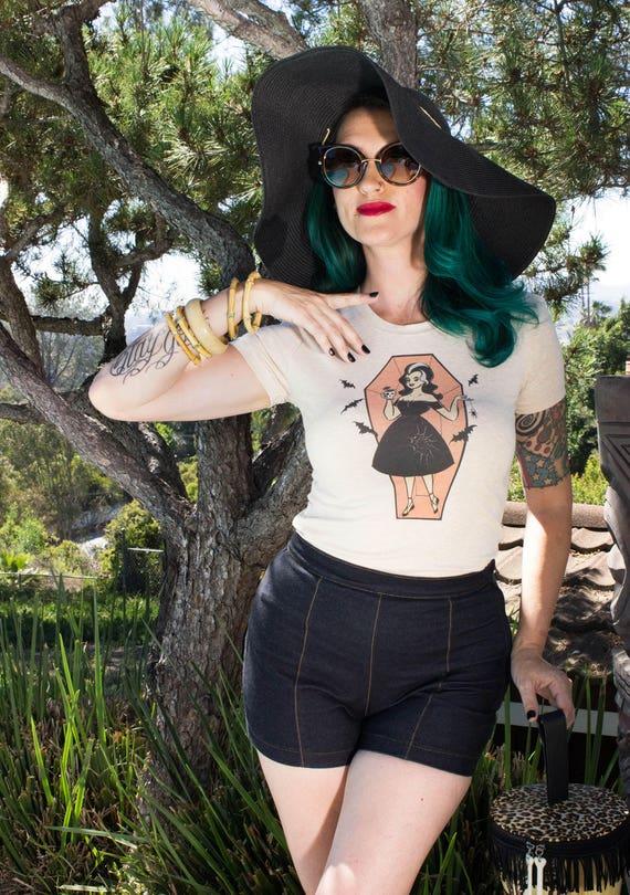 Coco Coffina Tshirt size S, M, L, XL, 2XL, 3XL Heather beige by The Oblong Box Shop × Mischief Made