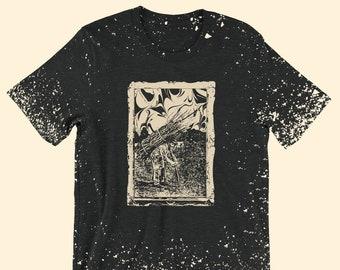 Led Zeppelin Shirt, Led Zeppelin Four Shirt, Led Zeppelin Album Art Shirt, Classic Rock Shirt, Music Lover tee, Handmade Screen Printed Tee