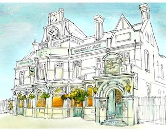 Limited Edition, 'Brockley Jack Theatre', London, SE4