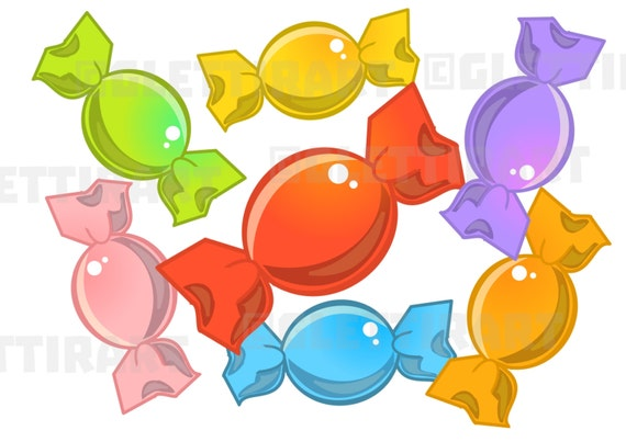 candy clipart candy clip art for personal and commercial use etsy rh etsy com etsy clip art for coco etsy clipart masquerade silver