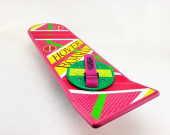 BTTF, Hoverboard Pink, Back To The Future