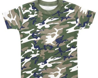 Camouflage Army Toddler T-Shirt