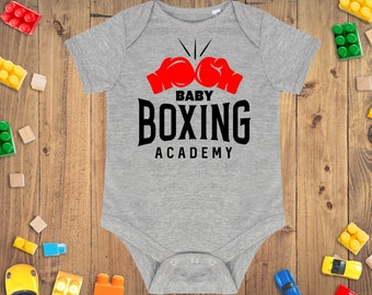 Shawl-Hat-Babygrow-Bib boxing gloves Personalised embroidered Baby gift set
