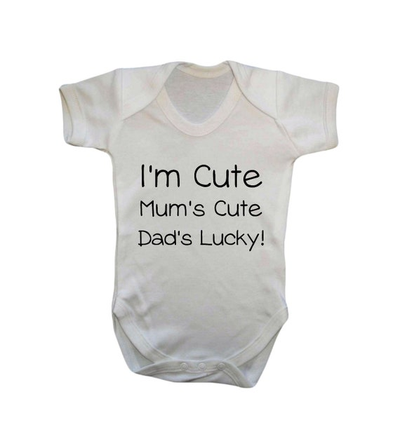 IM THE LITTLE SISTER Funny Girls Baby Grow Bodysuit Vest Babies Clothing Clothes