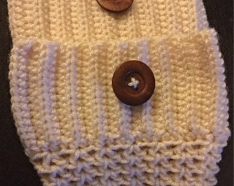 Handmade Crocheted Bootcuffs, 3 Styles