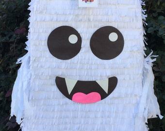 """White Ghost Pinata Vampire Emoticon Pinata 23"""" Tall"""