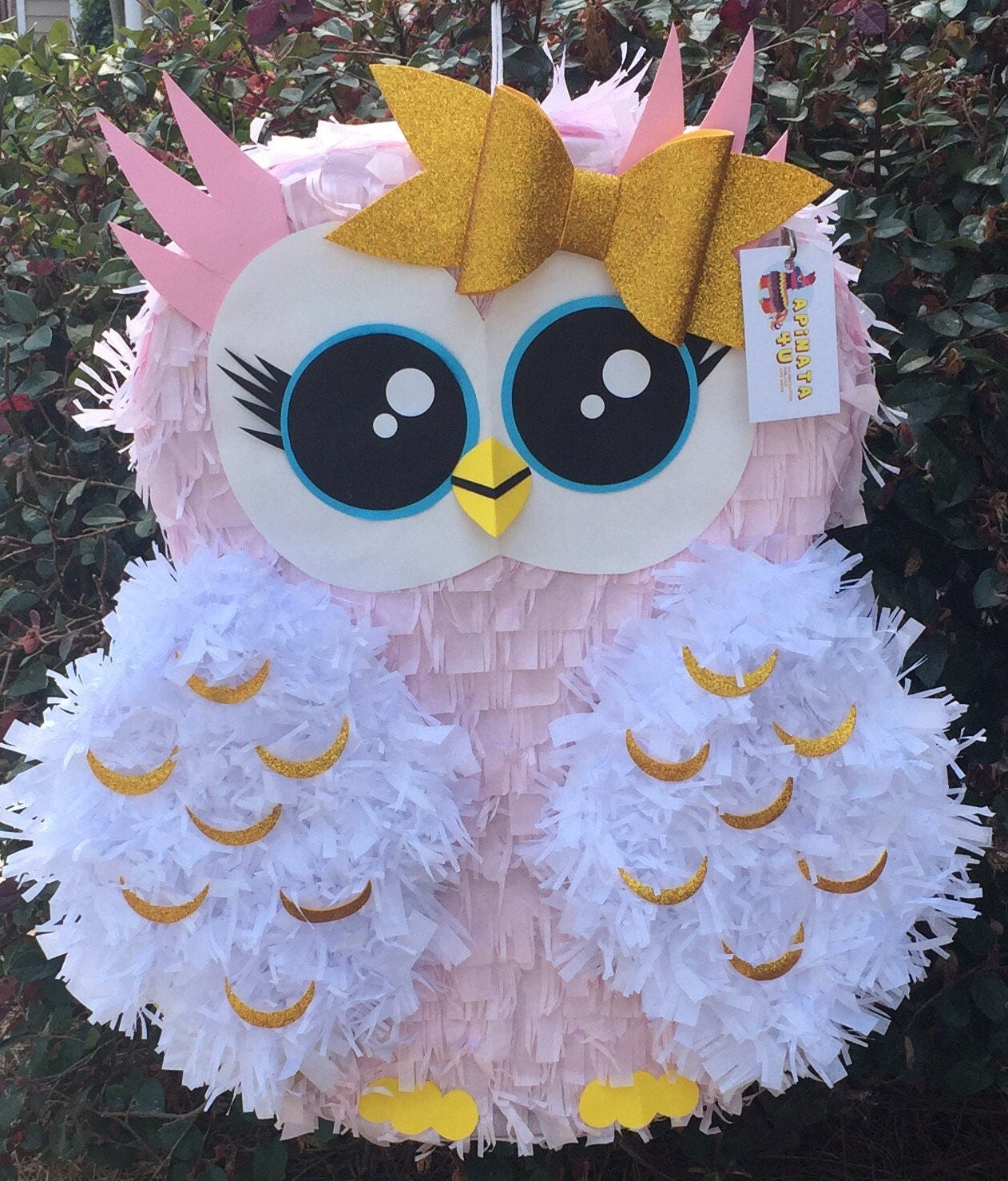 a22ca7da Piñata de buho grande hecha a mano por encargo   Etsy