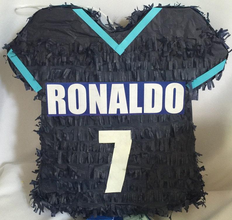 new styles a2e86 83c5c Sale! Ronaldo 7 Soccer Jersey Pinata