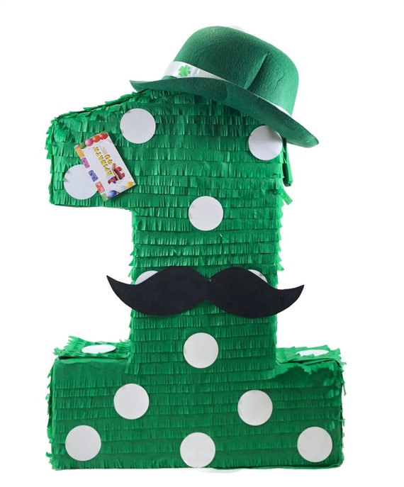 Sale St. Patrick s Day First Birthday Number One Pinata  978d575bd