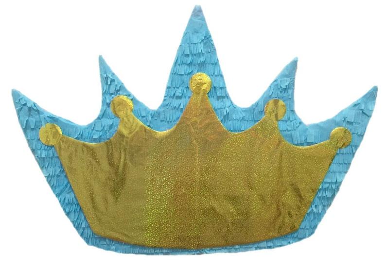 Gold Crown Pinata Prince Pinata Princess Pinata